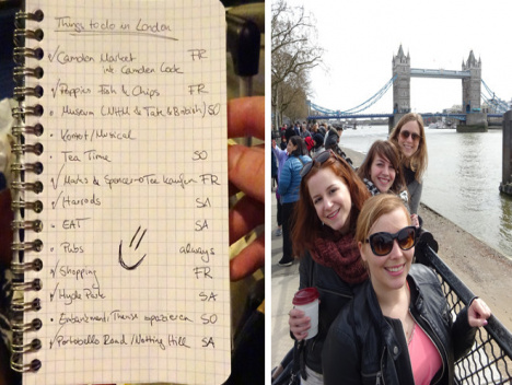 Notting Hill, Tower Bridge und Co.: Low Budget nach London!