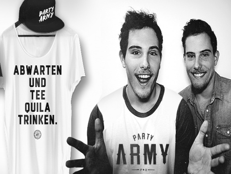 Partyarmy-Shop von TWIN.TV: Fashion made by YouTuber