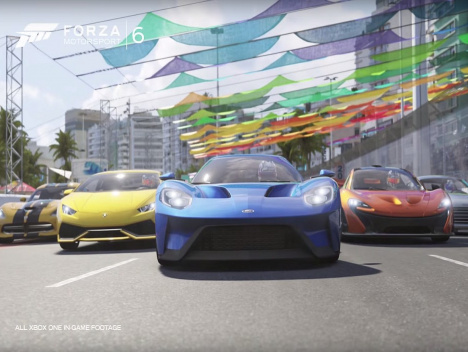 """Hell of a ride!"": Forza Motorsport 6 - Launch Trailer"
