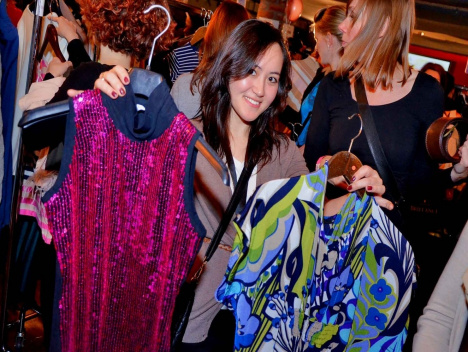 Fashion, Styling, Beauty:  Tausch-Rausch-Party in der Nachtresidenz: Swap in the City