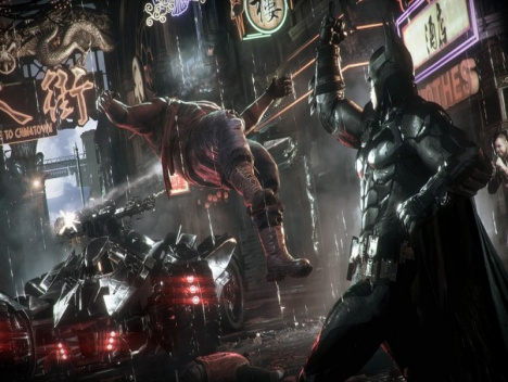 "Batman: Arkham Knight - Trailer ""Officer Down"": ""It's raining Batman, hallelujah!"""