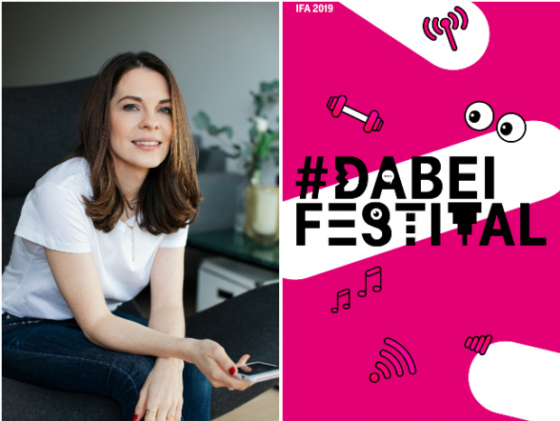 "#DABEI Festival Telekom - ""Road to IFA"" am 15. August in Düsseldorf: Workshop mit Foodbloggerin Denise Schuster und Sängerin Mogli"