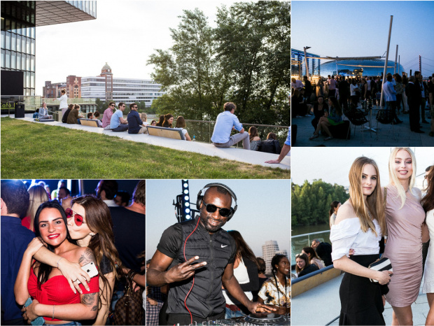 Fotos vom Pebble's am Hyatt: Perfekter Afterwork-Spot im Medienhafen
