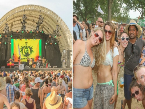 So war das Festival in Köln: Alle Fotos vom Summerjam 2015