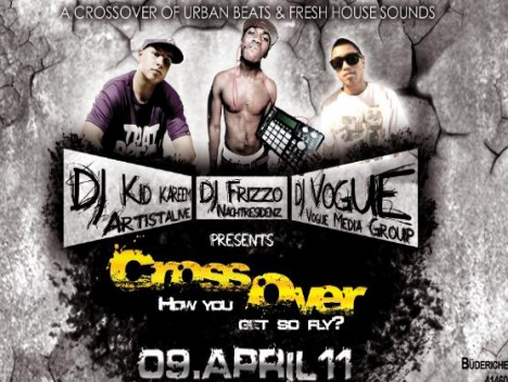 Am 9. April im Loft: CrossOver – How you get so fly?!?!