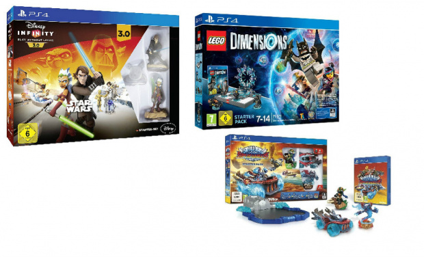 "Lego Dimensions vs. Disney Infinity 3.0 vs. Skylanders Superchargers: Der große Vergleich: ""Toys to Life""-Games"