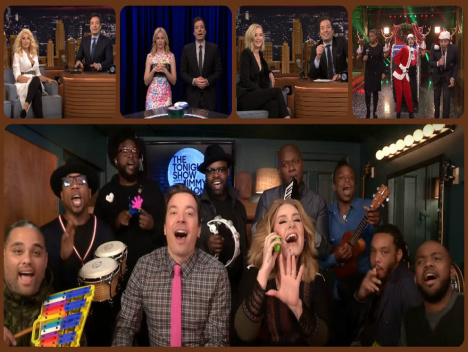 YouTube-Videos mit Adele, Rashida Jones und Jennifer Lawrence: Jimmy Fallon kriegt sie alle
