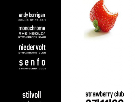 Strawberry Club im Stilvoll: Für Elektro-Liebhaber