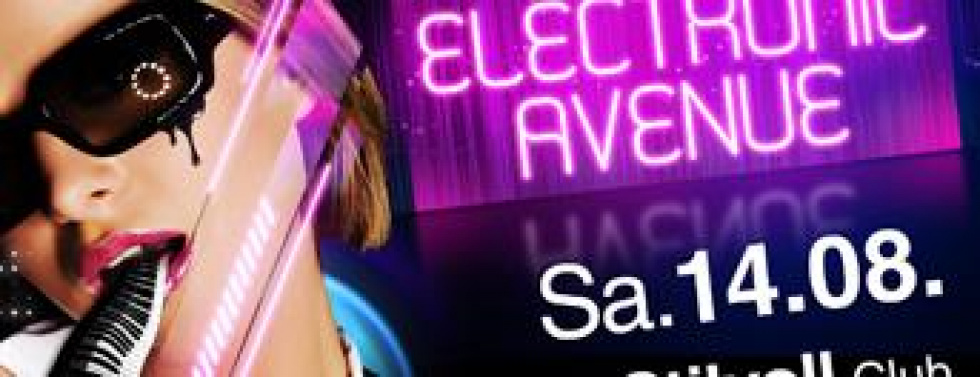 "14. August in Neuss: ""Electronic Avenue"" im Stilvoll"