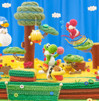 So viele bunte Yoshis!: Yoshi's Wooly World: Amiibo-Support im Trailer