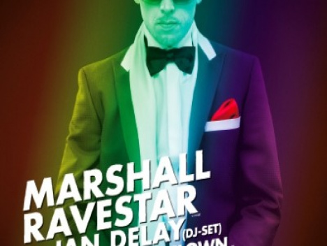 Am 16. November in der Tonhalle: Marshall Ravestar an den Decks der Tonfrequenz
