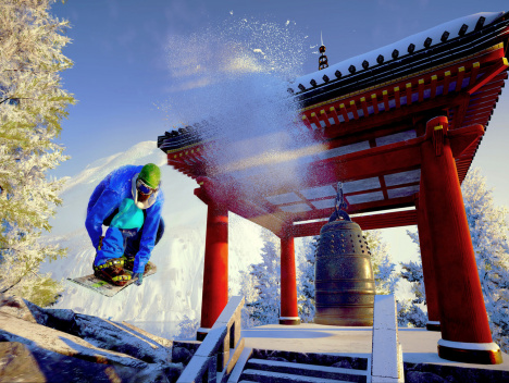 "Mit dem DLC ins verschneite Japan: ""Steep: Road to the Olympics"" im Test"
