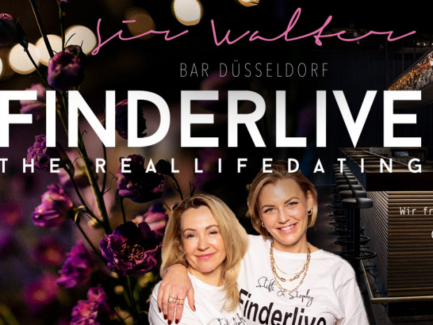 """Finderlive"" am 10. März: Steffi & Stephy laden zur Single-Party ins Sir Walter"