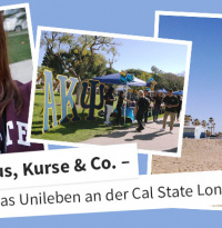 Campus, Kurse & Co.: Typisch amerikanisches Unileben an der California State University Long Beach