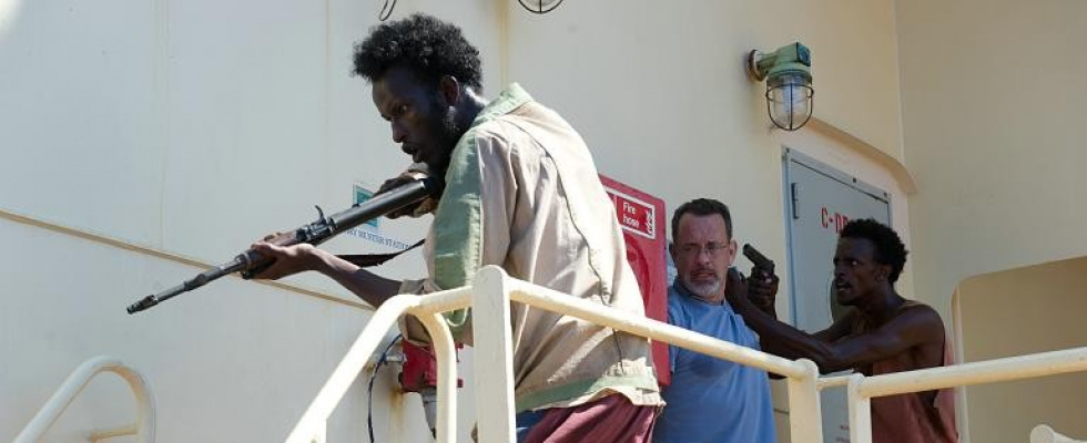 "Neuer Kinofilm: Tom Hanks bekämpf in ""Captain Phillips"" somalische Piraten"
