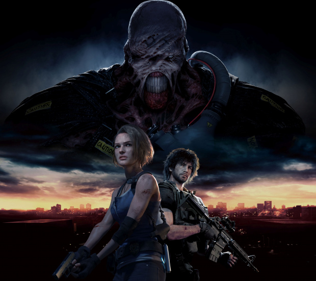 Resident Evil 3 Remake Key Visual (image/jpeg)