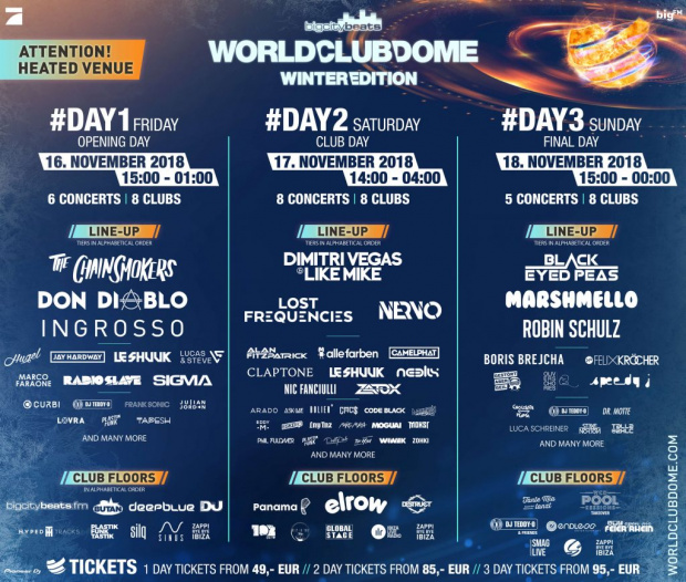 World Club Dome Winter Edition Line Up (image/jpeg)
