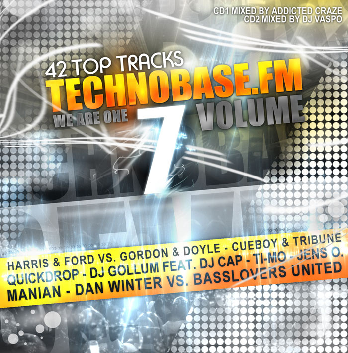 "Out now: Die neue ""TechnoBase.FM Vol. 7"""