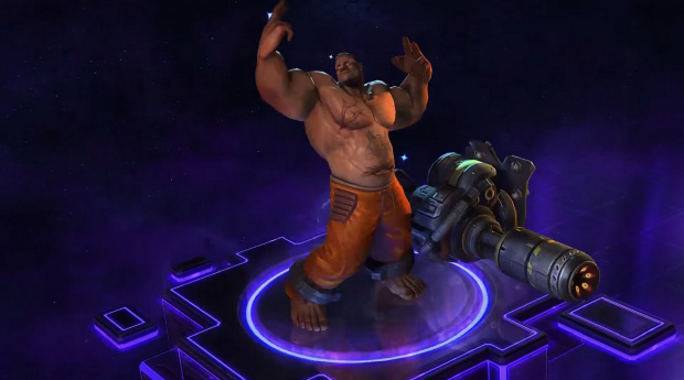 Heroes of the Storm Tychus (image/jpeg)