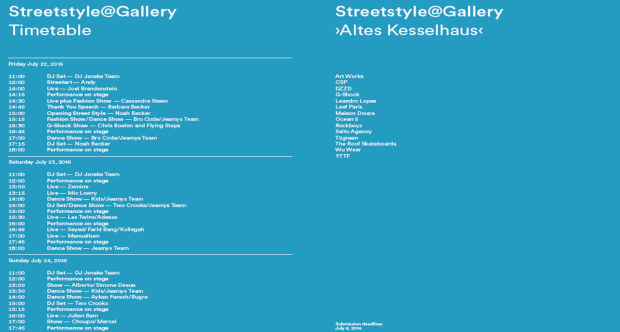 Timetable Streetstyle - image/png