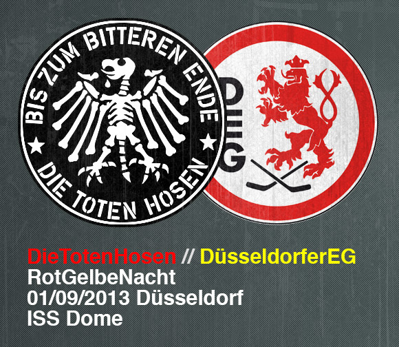 Rot-Gelbe-Nacht am 1. September im ISS Dome.