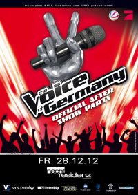 The Voice of Germany Aftershow-Party (image/jpeg)